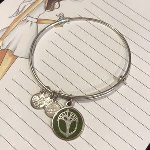 Unexpected Miracles - Alex and Ani - Green Bangle